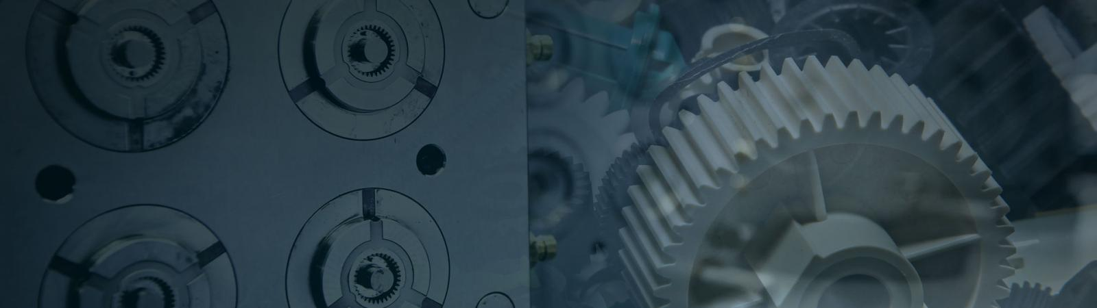 Custom plastic gears and drives and plastic gear tooling