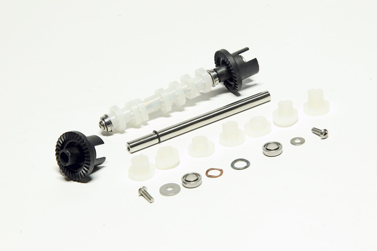 Custom plastic gear and drive systems