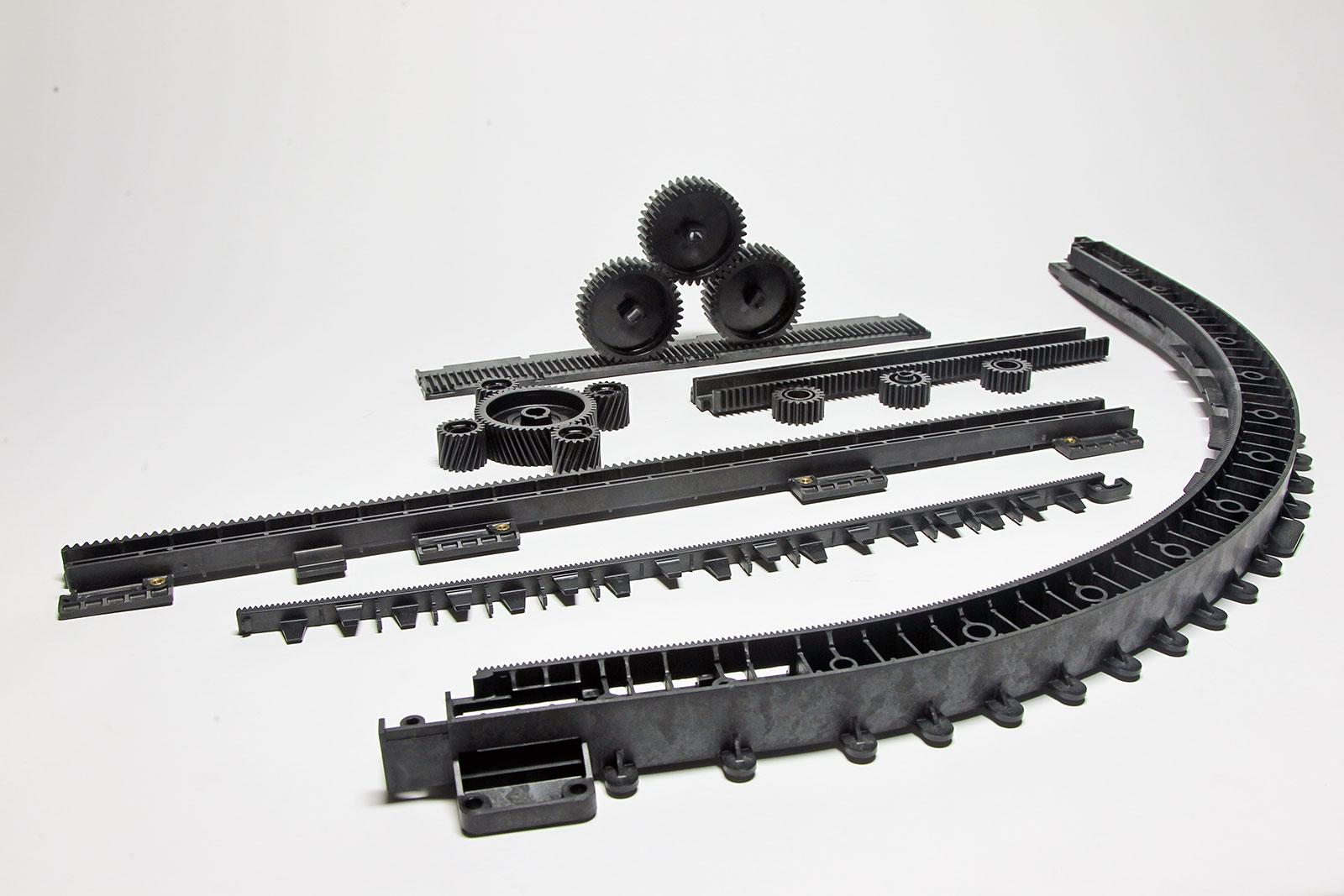 Seitz plastic injection molded automation components